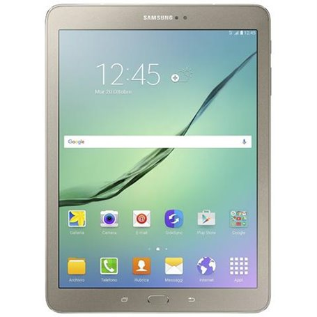 SAMSUNG S2 SM-T819 9.7-INCH LCD LED TABLET-PC - GOLD INTEL CORTEX-A53 3 GB RAM 32 GB HDD ANDROID 7.0