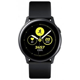 "Samsung Galaxy Watch Active Montre Intelligente Noir SAMOLED 2,79 cm 1.1"" GPS Satellite Galaxy Watch Active 2,79 cm 1.1"" SAMOLED"