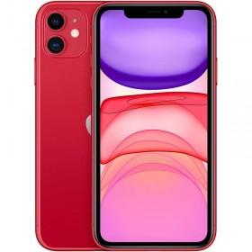 """Apple iPhone 11 15,5 cm 6.1"""" 64 GB Doppia SIM Rosso"""