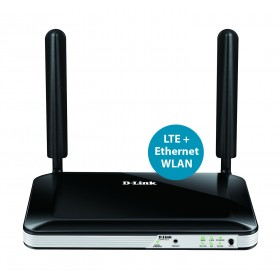 D-Link DWR-921 router wireless Fast Ethernet 3G 4G Nero, Bianco