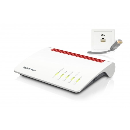 AVM FRITZ!Box 7590 routeur sans fil Gigabit Ethernet Bi-bande (2,4 GHz   5 GHz) 3G 4G Blanc