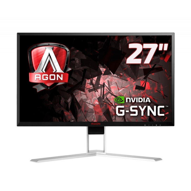 "AOC Gaming AG271QG monitor piatto per PC 68,6 cm (27"") 2560 x 1440 Pixel Quad HD LED Nero, Rosso"