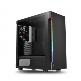 Thermaltake H200 TG RGB Midi Tower Black