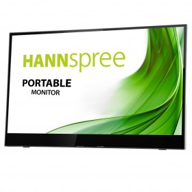 "Hannspree HL 161 CGB 39,6 cm (15.6"") 1920 x 1080 pixels Full HD LED Noir, Argent"