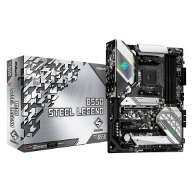 Asrock B550 Steel Legend AMD B550 Socket AM4 ATX