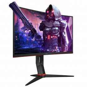 "AOC Gaming C27G2U/BK LED display 68,6 cm (27"") 1920 x 1080 Pixel Full HD Nero, Rosso"