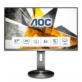 "AOC Gaming U2790PQU computer monitor 68.6 cm (27"") 3840 x 2160 pixels 4K Ultra HD LED Grey"