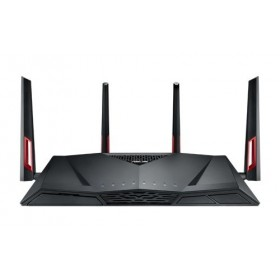 ASUS RT-AC88U WLAN-Router Gigabit Ethernet Dual-Band (2,4 GHz 5 GHz) 3G 4G Schwarz, Rot