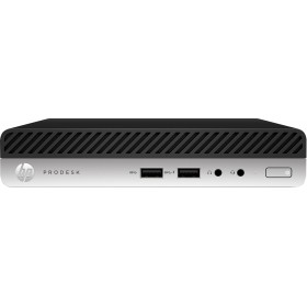 HP ProDesk 400 G5 i5-9500T mini PC Intel® Core™ i5 de 9e génération 8 Go DDR4-SDRAM 256 Go SSD Windows 10 Pro Noir