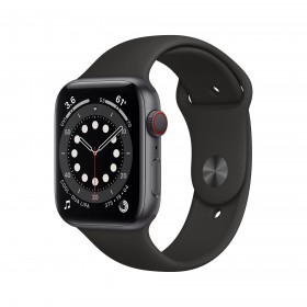 Apple Watch Series 6 44 mm OLED 4G Gris GPS (satélite)