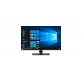 "Lenovo ThinkVision T27h-20 68.6 cm (27"") 2560 x 1440 pixels Quad HD LED Black"