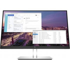 "HP E23 G4 58,4 cm (23"") 1920 x 1080 Pixel Full HD Nero, Argento"