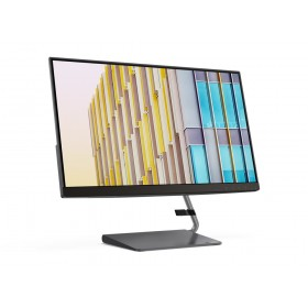 "Lenovo Q24h 60.5 cm (23.8"") 2560 x 1440 pixels Quad HD LED Grey"