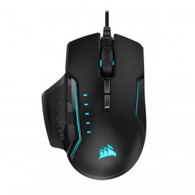 Corsair GLAIVE RGB PRO mouse Right-hand USB Type-A Optical 18000 DPI