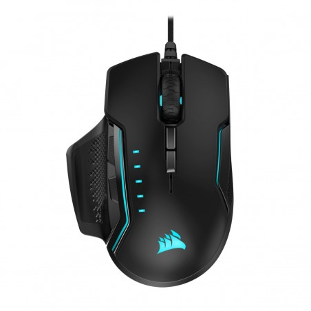 Corsair GLAIVE RGB PRO mouse Right-hand USB Type-A Optical
