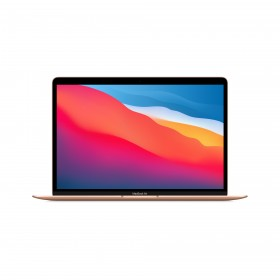 "Apple MacBook Air Notebook 33.8 cm (13.3"") 2560 x 1600 pixels Apple M 8 GB 256 GB SSD Wi-Fi 6 (802.11ax) macOS Big Sur Gold"