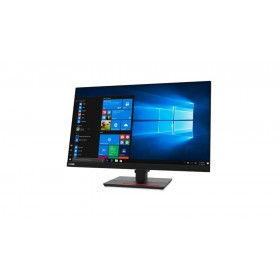 "Lenovo ThinkVision T27q-20 68.6 cm (27"") 2560 x 1440 pixels Quad HD LCD Black"