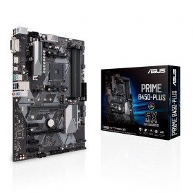ASUS PRIME B450-PLUS AMD B450 Presa AM4 ATX