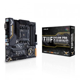 ASUS TUF B450M-PRO GAMING AMD B450 Emplacement AM4 micro ATX