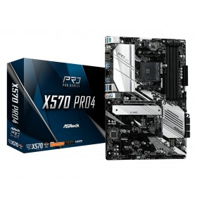 Asrock X570 Pro4 AMD X570 Socket AM4 ATX