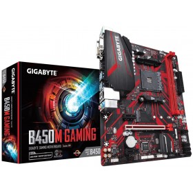 Gigabyte B450M GAMING placa base AMD B450 Zócalo AM4 micro ATX