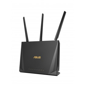 ASUS RT-AC2400 wireless router Gigabit Ethernet Tri-band (2.4 GHz   5 GHz   5 GHz) Black