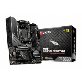 MSI MAG B550M Mortar AMD B550 Socket AM4 micro ATX