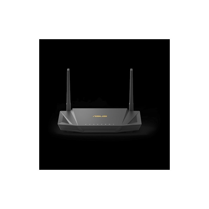 ASUS RT-AX56U wireless router Gigabit Ethernet Dual-band (2.4 GHz   5 GHz) Black