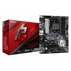 Asrock B550 Phantom Gaming 4 AMD B550 Presa AM4 ATX