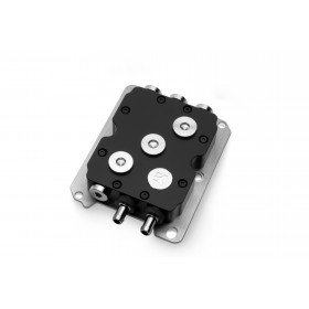 EK Water Blocks 3831109813911 ventola per PC Processore Blocco di acqua Nero, Metallico