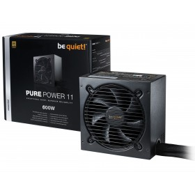be quiet! Pure Power 11 600W power supply unit 20+4 pin ATX ATX Black