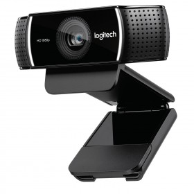 Logitech C922 webcam 1920 x 1080 Pixel USB Nero