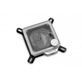 EK Water Blocks 3831109814635 ventola per PC Processore Blocco di acqua Nero, Metallico