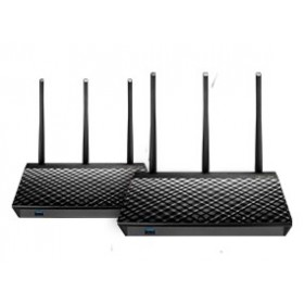 ASUS AiMesh AC1900 wireless router Gigabit Ethernet Dual-band (2.4 GHz / 5 GHz) Black