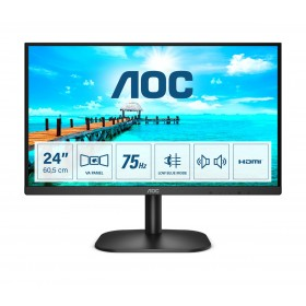 "AOC B2 24B2XDAM LED display 60.5 cm (23.8"") 1920 x 1080 pixels Full HD Black"