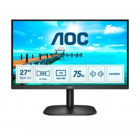 "AOC B2 27B2AM LED display 68,6 cm (27"") 19220 x 1080 Pixel Full HD Nero"