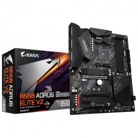 Gigabyte B550 AORUS ELITE V2 placa base AMD B550 Zócalo AM4 ATX