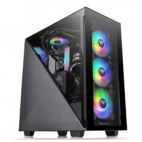 Thermaltake Divider 300 TG ARGB Midi Tower Nero