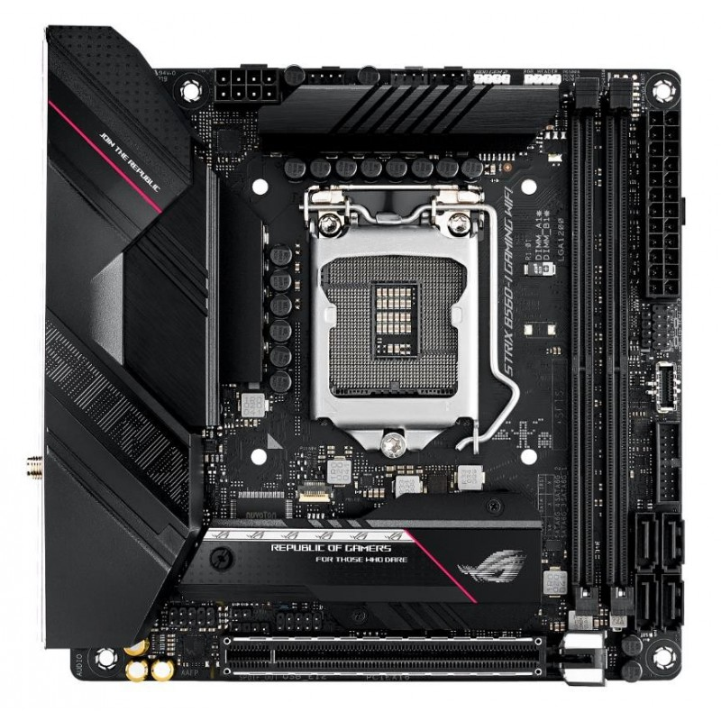 ASUS ROG STRIX B560-I GAMING WIFI Intel B560 LGA 1200 mini ITX
