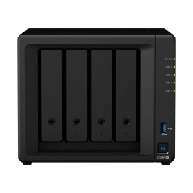 Synology DiskStation DS920+ NAS storage server Mini Tower Ethernet LAN Black J4125