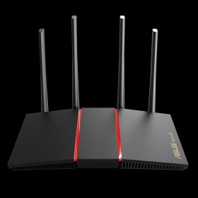 ASUS RT-AX55 wireless router Gigabit Ethernet Dual-band (2.4 GHz / 5 GHz) Black