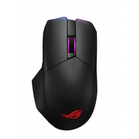 ASUS ROG Chakram mouse Right-hand RF Wireless+Bluetooth+USB Type-A Optical 16000 DPI