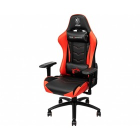 MSI MAG CH120 Gaming Chair 'Black and Red, Steel frame, Recline-able backrest, Adjustable 4D Armrests, breathable foam, 4D
