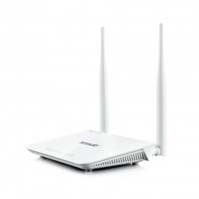 Tenda F300 wireless router Fast Ethernet White