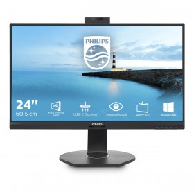 "Philips B Line 241B7QUBHEB 00 LED display 60,5 cm (23.8"") 1920 x 1080 Pixel Full HD Nero"