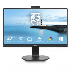 "Philips B Line 272B7QUBHEB 00 monitor piatto per PC 68,6 cm (27"") 2560 x 1440 Pixel Quad HD LCD Nero"