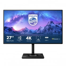 "Philips 279C9 00 écran plat de PC 68,6 cm (27"") 3840 x 2160 pixels 4K Ultra HD LED Noir"