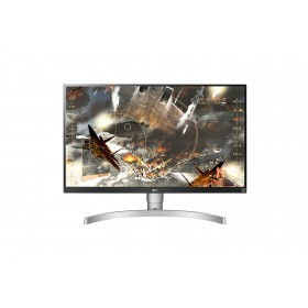 "LG 27UL650-W LED display 68,6 cm (27"") 3840 x 2160 Pixel 4K Ultra HD Argento"