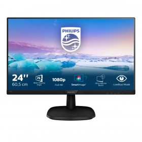 Philips V Line Moniteur LCD Full HD 243V7QDSB 00