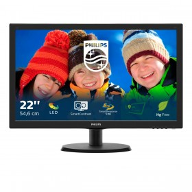 Philips V Line LCD monitor with SmartControl Lite 223V5LSB 00